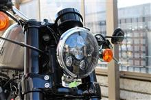 XL1200CX/ロードスターMOTOSTAR LEDヘッドライト 5.6インチの単体画像