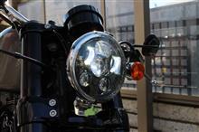 XL1200CX/ロードスターMOTOSTAR LEDヘッドライト 5.6インチの全体画像