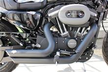 XL1200CX/ロードスターVANCE&HINES ショートショット スタッガードの全体画像