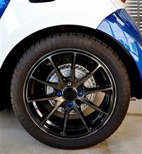 スマート フォーフォーRAYS VOLK RACING VOLK RACING G25の全体画像