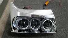 キャラバンシルクロードメーカー不明 ワゴンRの加工ヘッドライトの全体画像