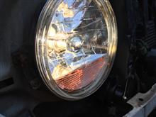 パジェロジュニアヤフオク ウインカー内蔵クリスタルヘッドランプの全体画像