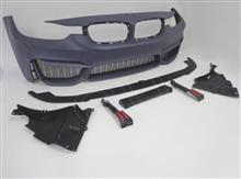 3シリーズ ツーリングメーカー不明 M3lookバンパー リップ付き/フェンダーの単体画像