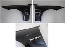 3シリーズ ツーリングメーカー不明 M3lookバンパー リップ付き/フェンダーの全体画像