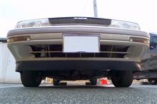 ペルソナ自作 Fr タイヤディフレクター ver.2の全体画像