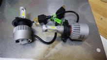 フォルツァSi不明 bridgelux製チップ搭載LEDヘッドライトH4(hi-Lo)36Wの全体画像