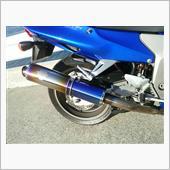 r's gear WYVERN Single Type チタン ドラッグブルー