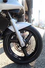 GSX250S KATANA (カタナ)店特製 ホイール(ブラック塗装)の単体画像