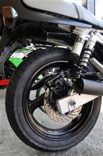 GSX250S KATANA (カタナ)店特製 ホイール(ブラック塗装)の全体画像