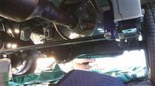 ハイゼットトラックGT CAR プロデュース オールステンレスマフラーの全体画像