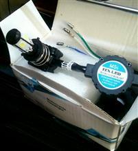 NINJA 150SSe-auto fun バイクライト LED ヘッドライトの単体画像