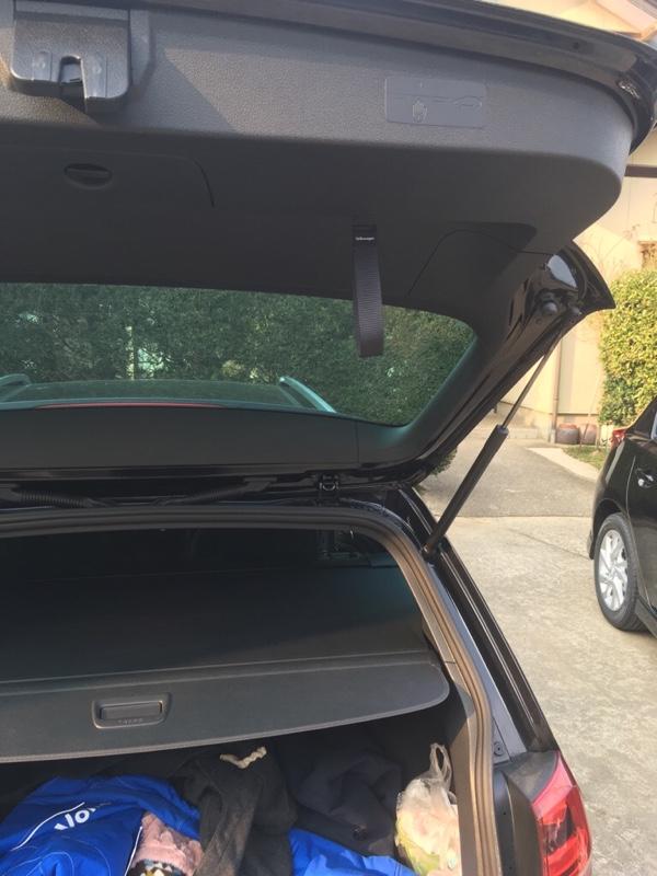 VW  / フォルクスワーゲン純正 テールゲートストラップ