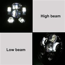 ビークロスメーカー・ブランド不明 LEDヘッドライト 5.75インチの全体画像