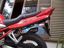 バンディット250メーカー・ブランド不明 DIO ZX用 互換リアスポイラーの単体画像
