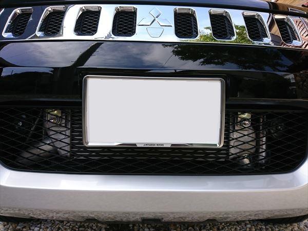 三菱自動車(純正) ナンバープレートフレーム
