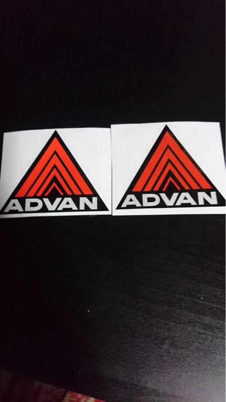 ADVAN ステッカー