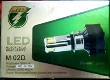NINJA 150SSRTD LED 3面ヘッドランプ  30Wの単体画像