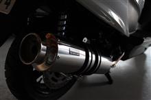 バーグマン200BEAMS SS400ソニックSPの単体画像
