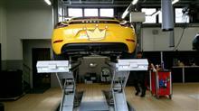 718 ケイマン純正スポーツエキゾースト 純正スポーツエキゾーストの全体画像