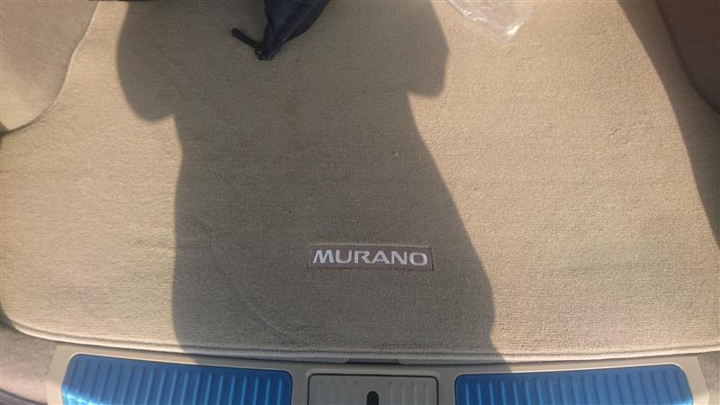 日産(純正) ムラーノZ51【MURANO】ムラノ純正カーゴマットUSカーペット薄茶
