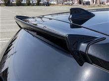 オーリスハイブリッドTRD / トヨタテクノクラフト リアスポイラーの単体画像