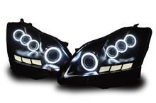 クラウンオールカープロダクツ 18#系クラウン(ゼロクラウン)3Dアクリル&イカリング/プロジェクターカスタムヘッドライト【極/Kiwami】選べるカスタム内容 アスリート/ロイヤルOK!18クラウンの全体画像