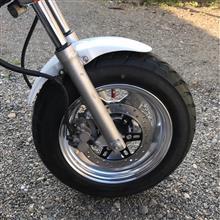 エイプ50DAYTONA(バイク) 4J ワイドアルミホイールの単体画像