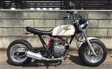 エイプ50DAYTONA(バイク) 4J ワイドアルミホイールの全体画像