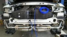 911 カブリオレakiraracing バルブ付きマフラーの単体画像