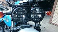 バンバン200ホンダ純正 ズーマー用デュアルヘッドライトの単体画像