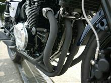 ゼファー400ヨシムラ 機械曲げストレートサイクロンの全体画像