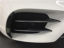Eクラス セダンメルセデス・ベンツ純正 E43用 フロントバンパー クロームトリムカバーセット&フラップの単体画像