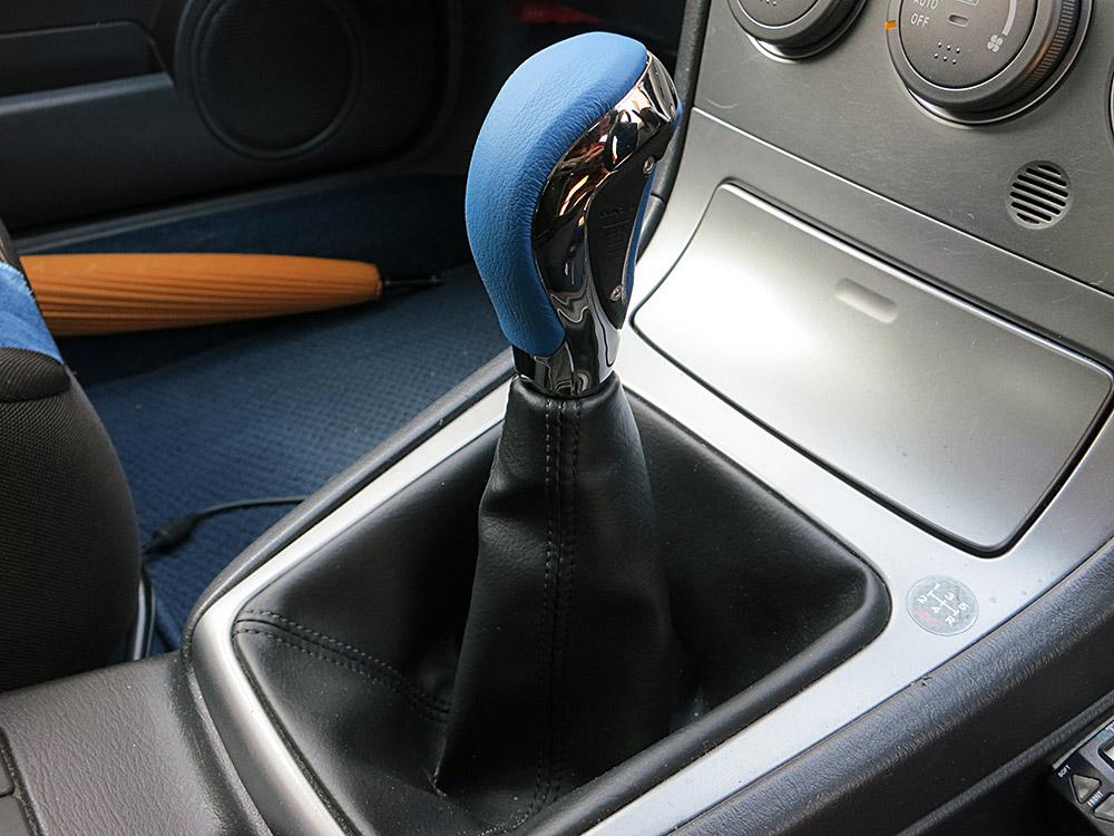 CAR MATE / カーメイト RA124 | RAZO GT-SPEC KNOB ブルー