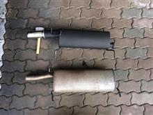 クサラULTER Exhaust Sport muffler 80mmの全体画像