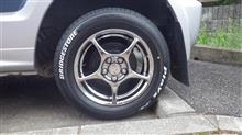 パジェロミニ三菱自動車(純正) ランサーセディアワゴン用ホイールの単体画像