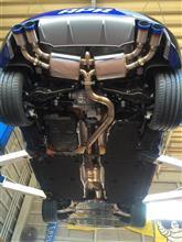 TTSirom-tuning Exhaust systemの単体画像