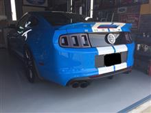 SHELBY GT500フォード純正 2013モデル GT500マフラーの単体画像