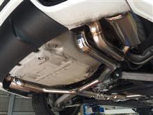 RS5irom-tuning Exhaust system AUDI RS5の全体画像