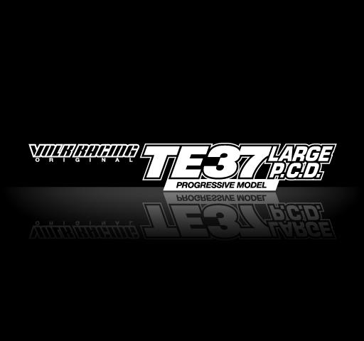 RAYS VOLK RACING TE37 LARGE P.C.D. PROGRESSIVE MODEL 18インチ 9.5J