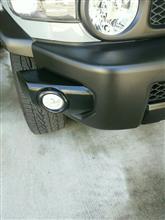 FJクルーザートヨタ純正 ブラックパッケージ・フロントバンパーパッドの単体画像