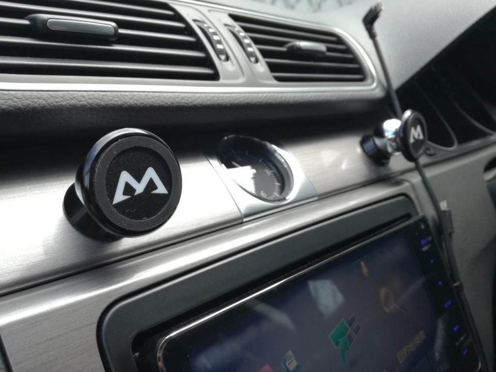 Mpow 車載ホルダー スマホスタンド マグネット式 360度回転