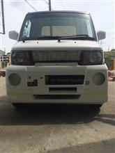 ミニキャブトラック三菱自動車(純正) M2バンパーの単体画像