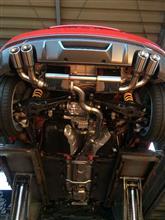 S1 スポーツバックirom-tuning Exhaust system AUDI S1 アイロムチューニング AUDI S1 の単体画像
