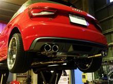 S1 スポーツバックirom-tuning Exhaust system AUDI S1 アイロムチューニング AUDI S1 の全体画像