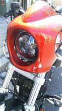 スポーツスター883Rパインバレー 5.75inchLEDヘッドライト  デーメーカープロジェクタータイプの単体画像