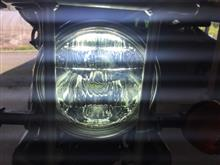 TF125RTD 直流交流兼用バイクLEDヘッドライトの全体画像