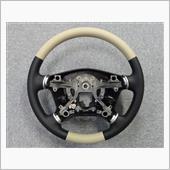 Leather Custom FIRST デリカD:5用純正ベースカスタムステアリング