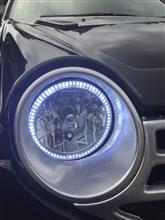 ロゴ汎用ライト エンジェルリング付きの全体画像