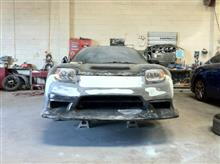 NSXRoute Ks RGT front bumperの全体画像
