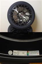 フィット3 ハイブリッドRAYS makina ISOTTA SCALAREの単体画像